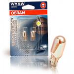 Osram WY5W Diadem Chrome 12V 5W W2.1x9.5d 2st. Blister
