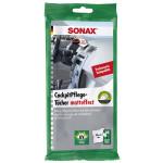 SONAX 04158000 - Kunststoffpflegemittel - KunststoffPflegeTücher seidenmatt