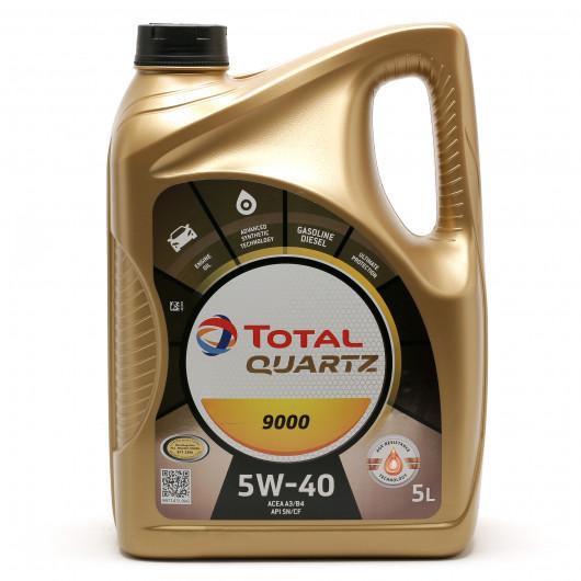 Total Quartz 9000 5W-40 Motoröl 5l