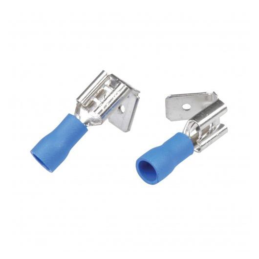 Profipack Steckverteiler Unitec für Kabel Ø 1,0-2,5qmm blau 20 Stk.