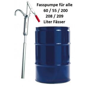 Hebel Fasspumpe für 55/57/60/208l Fässer
