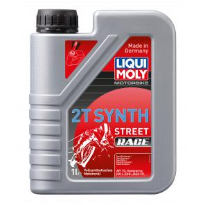 Liqui Moly Motorbike 2T Synth Street Race vollsynthetisches Motorrad Motoröl 1l