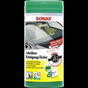 SONAX Scheiben Reinigungs Tücher Box