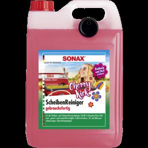 SONAX 03925000 - Reiniger, Scheibenreinigungsanlage - ScheibenReiniger gebrauchsfertig Cherry Kick