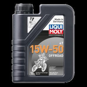 Liqui Moly 3057 Motorbike 4T 15W-50 Offroad Motorrad Motoröl 1l