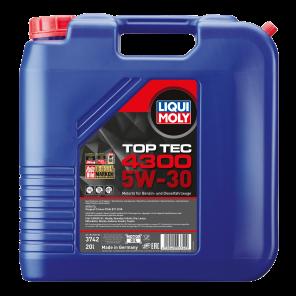 Liqui Moly 5W-30 Top Tec 4300 Motoröl 20l Kanister