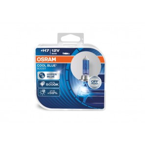 H7 12V 80W PX26d COOL BLUE BOOST 5000K + 50% 2 st. Osram (NO ECE ) BLUE Hyper 2st. (NO ECE)