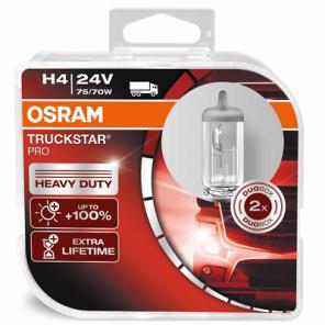 Osram H4 24V 75/70W P43T TruckStar Pro +100% 2st. Osram