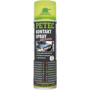 Petec Kontaktspray Electronic 500ml Spray