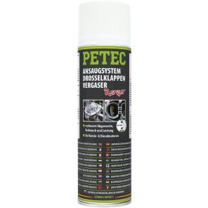 Petec Ansaugsystem-, Drosselklappen und Vergaserreiniger Spray 500 ML