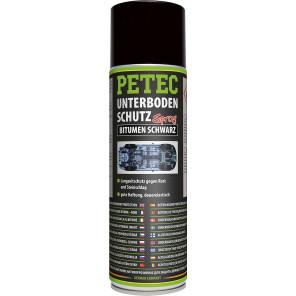Petec Unterbodenschutz Bitumen Spray schwarz 500ml