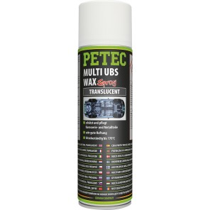 Petec Multi UBS WAX transparent 500ml Spray