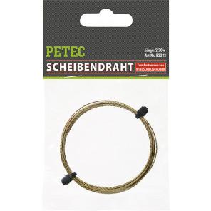 PETEC 82322 - Schneiddraht, Scheibendemontage