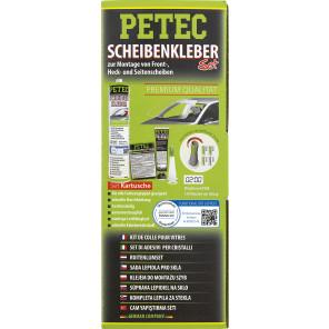 Petec Scheibenkleber-Set, 310ml Kartusche