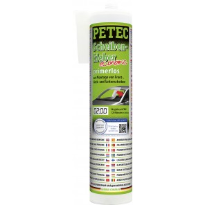 Petec Scheibenkleber economic, 290ml Kartusche (Primerlos)