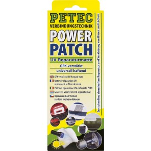 Petec Power Patch UV-Reparaturmatte SB-Karte 75x150 mm