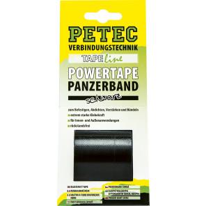 Petec POWER Tape, schwarz 5m