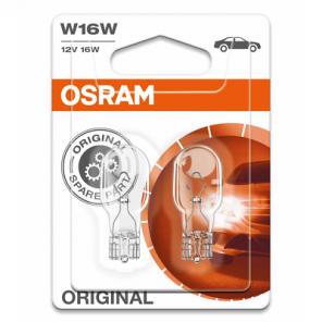Osram W16W 12V 16W W2,1x9,5d 2st. Blister Osram
