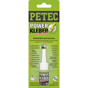 Petec POWER Kleber 10g (Profi Superkleber)