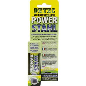 Petec POWER Stahl 50g (Schnellhärtende Knetmasse)