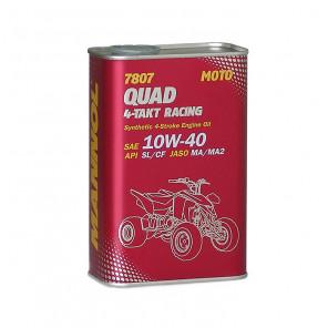 MANNOL 7807 Quad 4-Takt Racing 10W-40 Motorrad Motoröl 1l