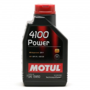 Motul 4100 Power 15W-50 Motoröl 1l