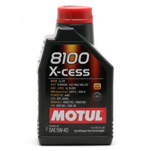 Motul 8100 X-cess 5W-40 Motoröl 1l