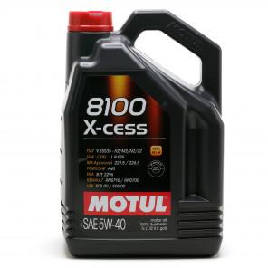 Motul 8100 X-cess 5W-40 Motoröl 5l