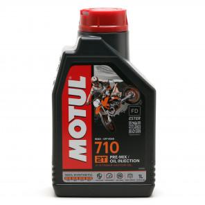 Motul 710 2T vollsynthetisches Motorrad Motoröl 1l