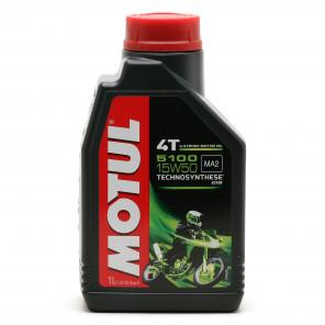Motul 5100 ester 15W-50 4T Motorrad Motoröl 1l