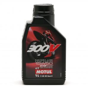 Motul 300V Factory Line Road Racing ESTER Core 15W-50 4T Motorrad Motoröl 1l