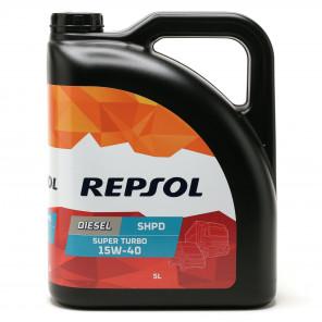 Repsol LKW/ NKW Motoröl SUPER TURBO DIESEL SHPD 15W40 5 Liter