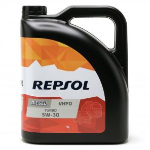 Repsol LKW/ NKW Motoröl DIESEL TURBO VHPD 5W30 5 Liter