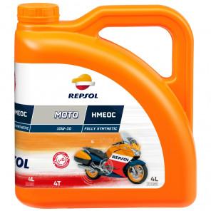 Repsol Motorrad Motoröl MOTO HMEOC 4T 10W30 4 Liter