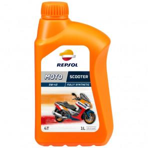 Repsol Motorrad Motoröl MOTO SCOOTER 4T 5W40 1 Liter