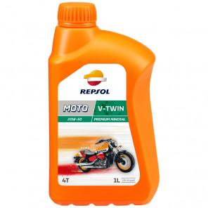 Repsol Motorrad Motoröl MOTO V-TWIN 4T 20W50 1 Liter