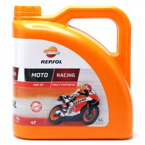 Repsol Motorrad Motoröl MOTO RACING 4T 10W50 4 Liter