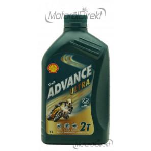 Shell Advance Ultra 2T vollsynthetisches Motorrad Motoröl 1l