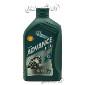 Shell Advance VSX 2T teilsynthetisches Motorrad Motoröl 1l