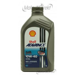 Shell Advance Ultra 4T 10W-40 Motorrad Motoröl 1l