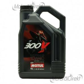 Motul 300V Factory Line ESTER Core 10W-40 4T Motorrad Motoröl 4l