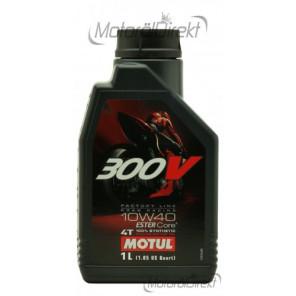 Motul 300V Factory Line ESTER Core 10W-40 4T Motorrad Motoröl 1l