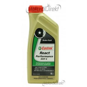Castrol React Performance DOT 4 Bremsflüssigkeit 1l