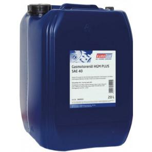 Eurolub Gasmotorenöl HGM SAE 40 20l Kanister