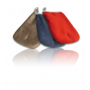 Nigrin Tierhaar-Entferner Handschuh blau,grau,rot