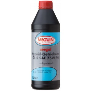 Meguin megol Hypoid-Getriebeöl GL5 SAE 75W-90 (vollsynth.) 1l