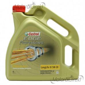 Castrol Edge Professional Longlife III Titanium FST 5W-30 Motoröl 4l