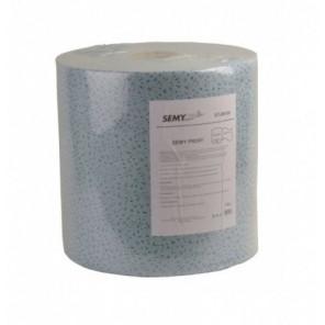 Profi Putztuchrolle 29x37cm, 500 Blatt, blau 100% Polypropylen