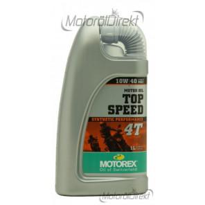 MOTOREX 4T Top Speed SAE 10W-40 Motorrad Motoröl 1l