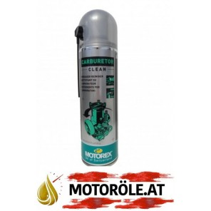 MOTOREX Carburetor Clean Vergaserreinigungsspray 500ml